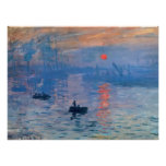 Impression Sunrise Poster