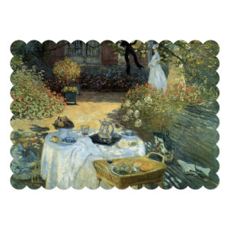 Impressionism Art Afteroon Tea Party Bridal Shower Personalized Invites
