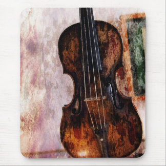 impressionism  musical instrument Fiddle Violin Mouse Mat