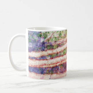 Impressionist Abstract Painting Classic White Coffee Mug