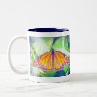 Impressionist Butterfly Coffee Mugs