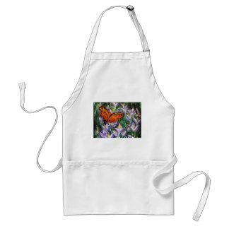 Impressionist butterfly standard apron
