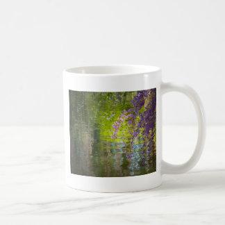 Impressionist Cherry Blossoms Basic White Mug