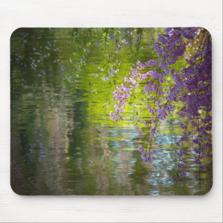 Impressionist Cherry Blossoms Mouse Mat