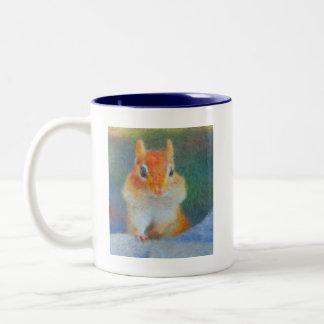 Impressionist Chipmunk Mug
