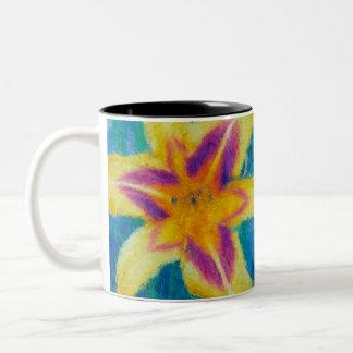 Impressionist Daylily Mug