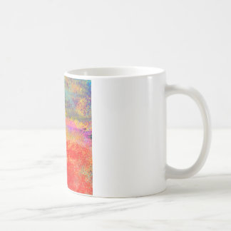 Impressionist Design Abstract Basic White Mug