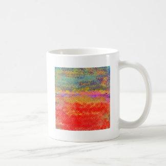 Impressionist Design Abstract Mugs
