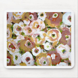 Impressionist Flowers Mouse Pad