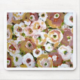Impressionist Flowers Mouse Pad