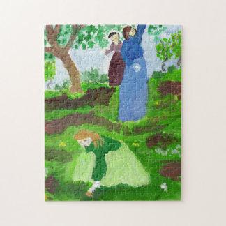 Impressionist homage jigsaw puzzle