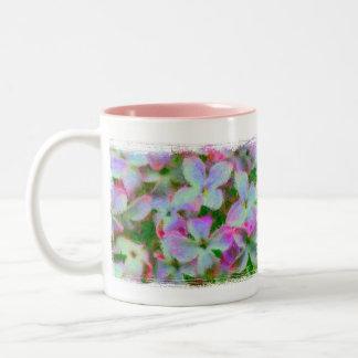 Impressionist Lilacs Two-Tone Mug