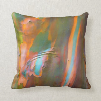 Impressionist-style Eucalyptus Bark Cushion