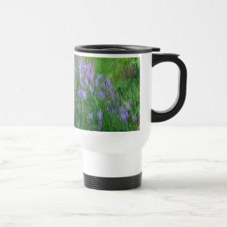 Impressionist Style Summer Flower Garden Coffee Mug