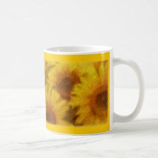 Impressionist Sunflowers Mug