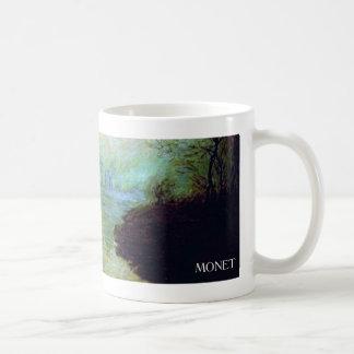 Impressionist Sunrise by Monet Basic White Mug