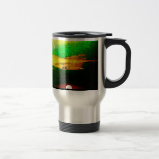 Impressionist Sunset Aluminum Travel Mug