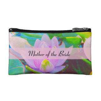 Impressionist Water Lily Bagette Cosmetic Bag