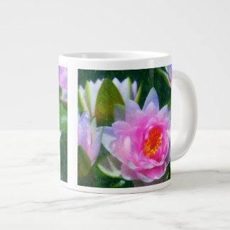 Impressionist Waterlilies Jumbo Mug