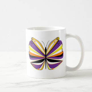 Impressionistic Butterfly Coffee Mugs