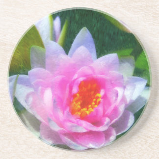 Impressionistic Water Lily Coaster