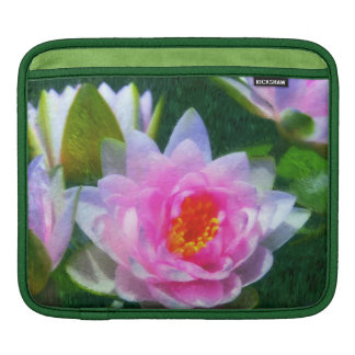 Impressionistic Water Lily ipad Sleeve