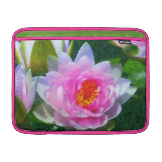 Impressionistic Water Lily MacBook Air Sleeve