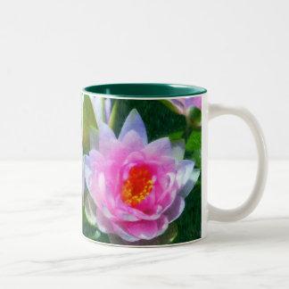 Impressionistic Waterlily Mug