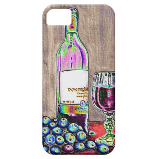Impressionistic Wine and Grapes Art iPhone 5 Cover