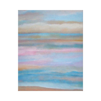 Impressions of Summer Soft Romance of the Sea Canvas Prints