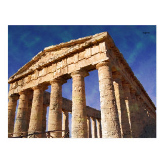 Impressitaly Segesta Temple Post Cards