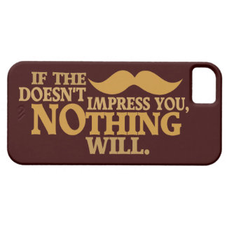 Impressive Moustache custom color iPhone case