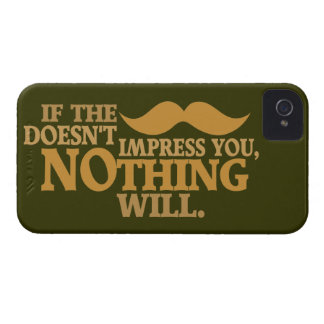 Impressive Moustache custom color iPhone case-mate