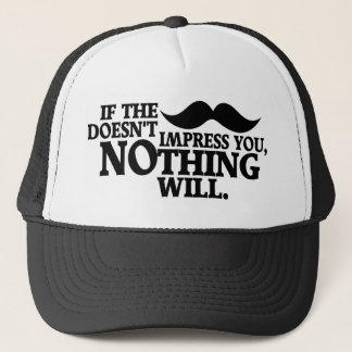 Impressive Moustache hat - choose color
