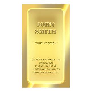 Impressive Shiny Brick Bar Look with Custom Text Business Card