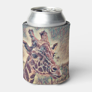 Impressivet Animal - Giraffe Can Cooler