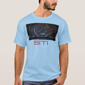 Impreza STI shirt gauge cluster
