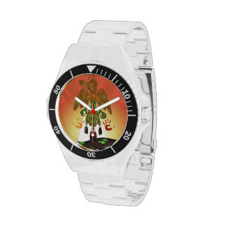 Imprint Native American Inspired Wrist Watch