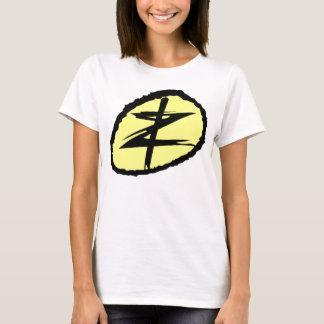 """Imprint Zero Womens White """"Baby Doll"""" T-Shirt"""