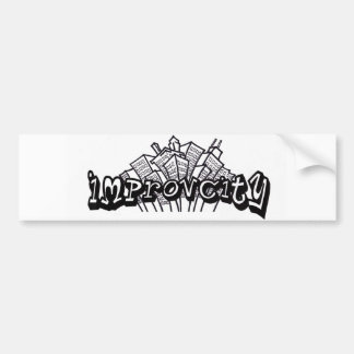 ImprovCity Bumper Sticker