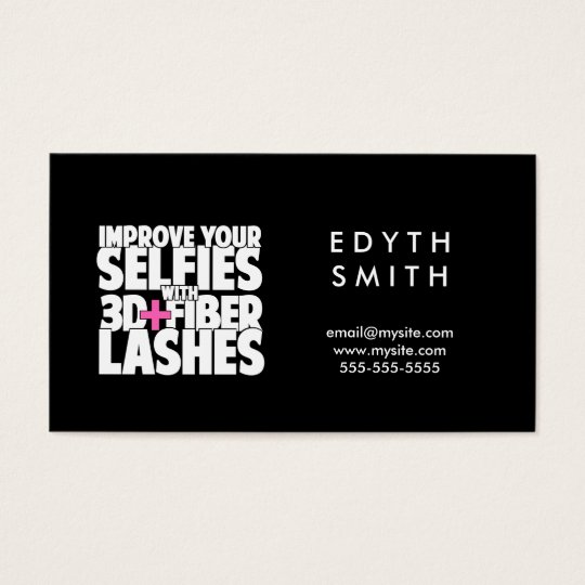 Improve Your Selfies Business Card