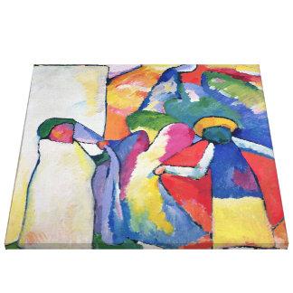 Improvisation No. 6 (Africans) Canvas Print