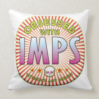 Imps Obsessed R Throw Pillows