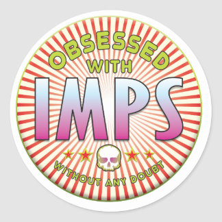 Imps Obsessed R Sticker