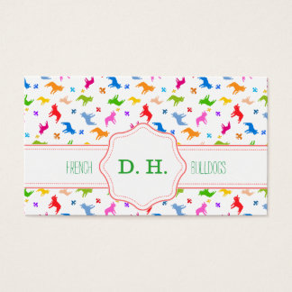 Impudent Frenchie sample Business Card