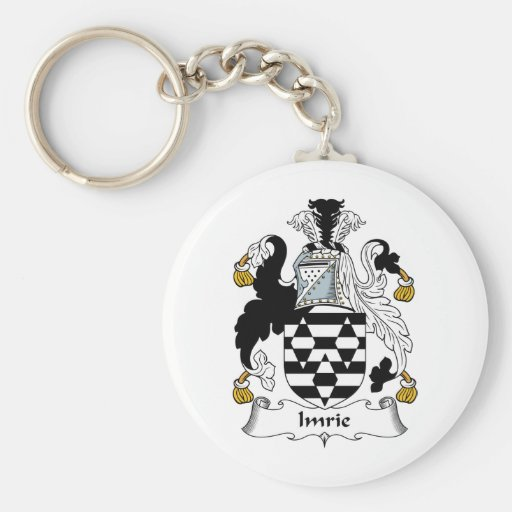 Imrie Family Crest Keychain