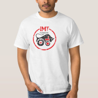 IMT Tractor Vintage Style Yugoslavia Production. T-Shirt