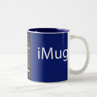 iMug AllBlue Two-Tone Mug
