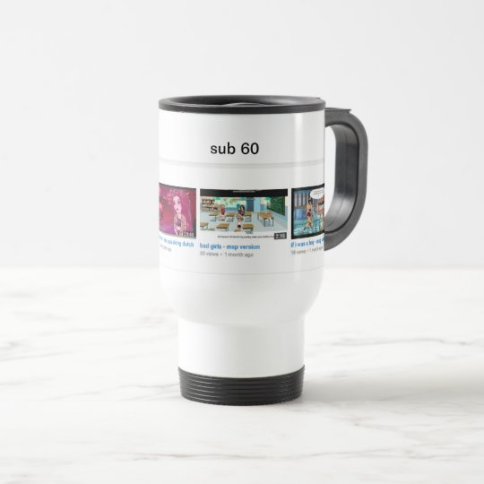 IMYJUSTIMY TRAVEL MUG