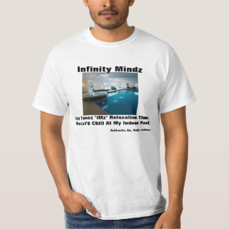 "iMz ""In home indoor Pool"" ad T-Shirt"